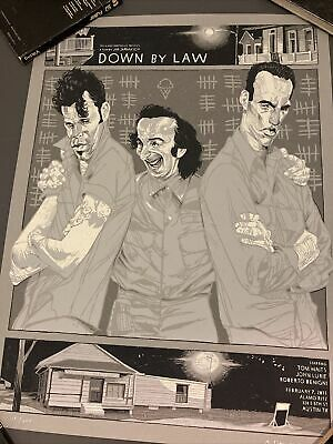 Mondo Down By Law Poster By Rich Kelly Jarmusch Tom Waits • 10.66£