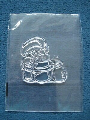 Teddy Bear With Presents Clear Stamp, Forever Friends? - Christmas - Brand New  • 3£