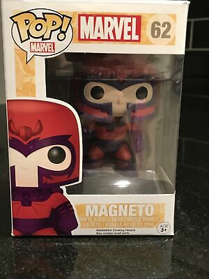 Funko Pop Marvel X Men Magneto Metallic # 62 • 14£