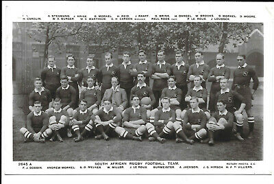 South African Rugby Football Team - C.1910 • 8£