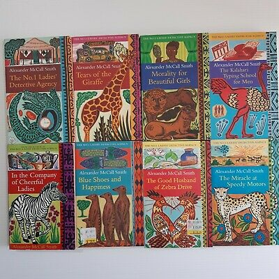 AU50 • Buy The No 1 Ladies Detective Agency Alexander McCall Smith Books 1 2 3 4 6 7 8 9