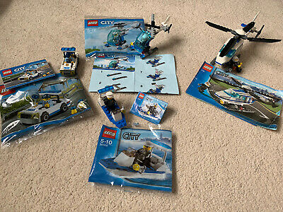 LEGO City Police Helicopter 7741 Bundle Plus 3 Small Sets • 12£