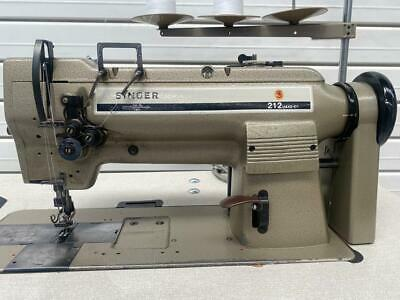Singer Twin Needle 212 Industrial Sewing Machine  • 475£