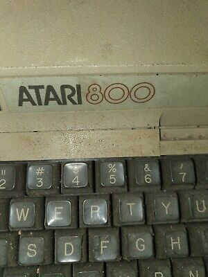 Vintage ATARI 800 Computer + 410Tape Recorder ~ Power Supply ~ Joystick + A Game • 365£