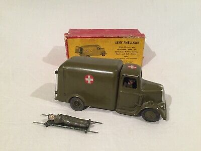 BRITAINS TOY SOLDIERS - ARMY AMBULANCE No.1512 In ORIGINAL Box - 1940's. • 27.66£