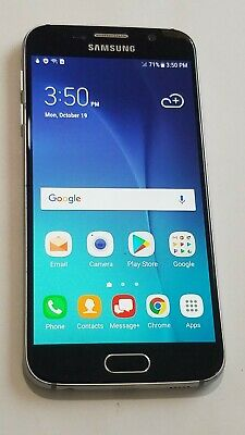 $ CDN98.65 • Buy Samsung Galaxy S6 SM-G920V- 32GB - Blue- Verizon Unlocked- De-Lam # 164OC