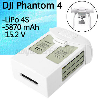 AU119.99 • Buy For DJI Phantom 4 Pro V2.0 Intelligent Flight 5870mAh 15.2V Replacement Battery