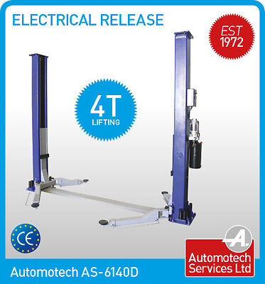 Car Vehicle Ramp 2 Post Lift Hoist 4 Ton  Single Point Electrical Release,  • 1,558.80£