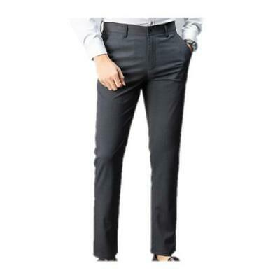 $ CDN54.86 • Buy  Men's Western Style Straight Pants Business Casual Trousers Formal Slim Fit L