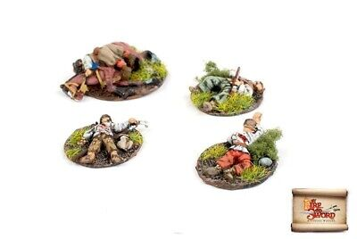£13 • Buy By Fire And Sword AKC-16 Cossack Casualty Markers -  Wargamer