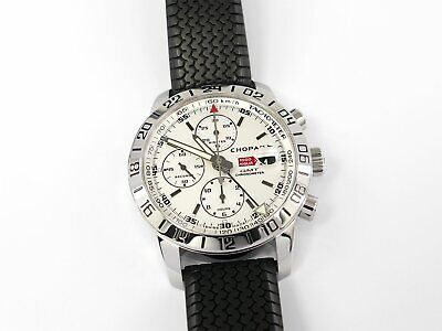 Chopard Mille Miglia GMT Chronograph 8992 Silver 16/8992-3003 Box / Papers 42mm • 3,150£
