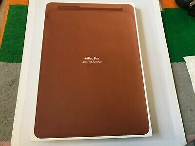 Apple Leather Sleeve For 12.9 Inch IPad Pro - Saddle Brown • 15£