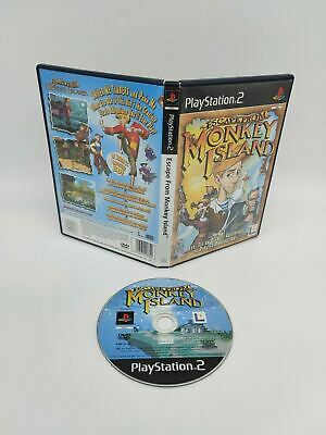 Escape From Monkey Island (PS2), Good PlayStation2, Playstation 2 Free P&P • 5.99£