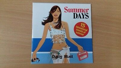 Summer Days - Daily Mail Promo CD - 15 Tracks - UNUSED. • 0.55£