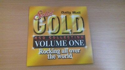 Daily Mail Promo CD - Solid Gold Volume 1 - Rocking All Over The World - UNUSED. • 0.55£