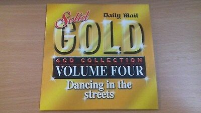 Daily Mail Promo CD - Solid Gold Volume Four - Dancing In The Streets - UNUSED. • 0.55£