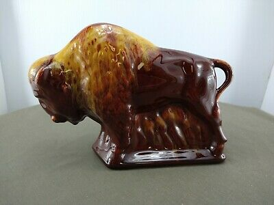 $ CDN35.99 • Buy Blue Mountain Pottery Bison In Harvest Gold