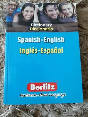 Spanish-English Berlitz Bilingual Dictionary By Berlitz Publishing Company (Pap… • 0.50£