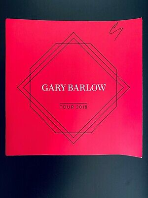 Official Gary Barlow In Concert 2018 Signed Programme • 15£