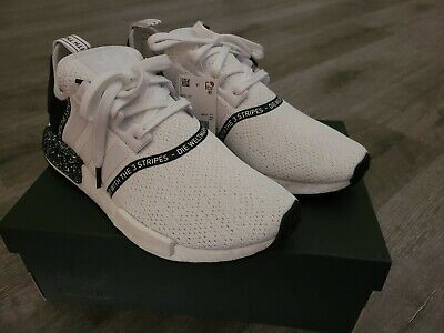 $ CDN85.89 • Buy Adidas NMD R1 Nomad Boost Speckle Pack Oreo White Black Men's EF3326 Size 10.5