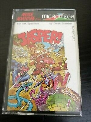Jasper - ZX Spectrum 48K/128K Micromega 1984 Tested & Working  • 4.99£