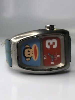 Paul Frank Industries Quartz Watch With Blue Leather Band • 27.91£