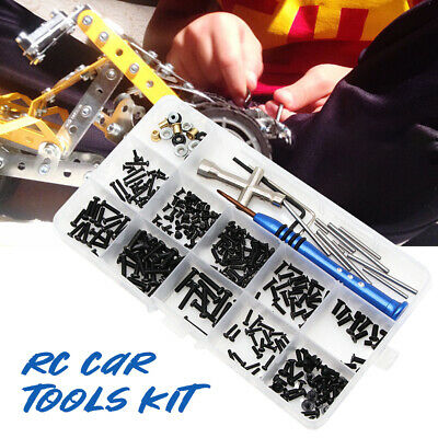 RC Car Tools Kit With Box Repair Supplies Accessories DIY For Wltoys 1:14 144001 • 8.49£
