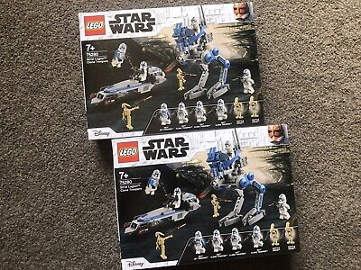 AU159.99 • Buy [BUNDLE] LEGO Star Wars 501st Legion Clone Troopers Battle Packs 75280 X2 NEW
