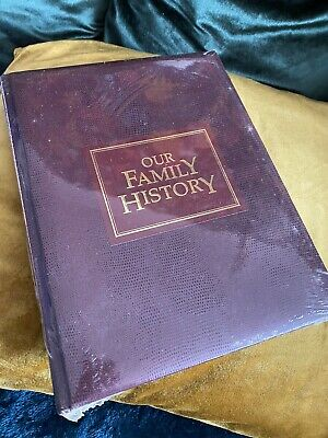 New Our Family History - Family Tree Genealogy Record Book Keepsake Memories • 9.99£