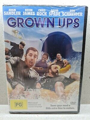 AU4.99 • Buy NEW & SEALED - GROWN UPS - DVD  / Adam Sandler / Chris Rock / Kevin James