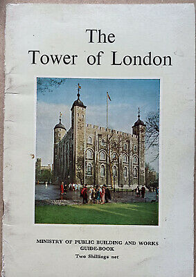 The Tower Of London. Ministry Of Public Building & Works Guide Book. 1964 • 0.99£