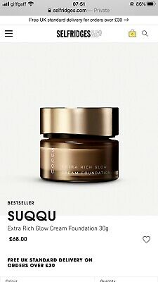 SUQQU Extra Rich Cream SPF30 Foundation 035 Shade 30g Full Size BOXED RRP £68.00 • 33£
