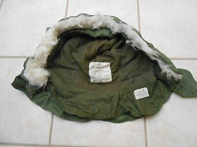 $32.99 • Buy Vintage M-65 Hood Winter Og-107 Extreme Cold Weather Military Ecw Synthetic Fur