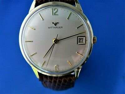 $ CDN191.61 • Buy VINTAGE LONGINES WITTNAUER MECHANICAL 10KT GOLD/Filled Gents Watch C1960'S