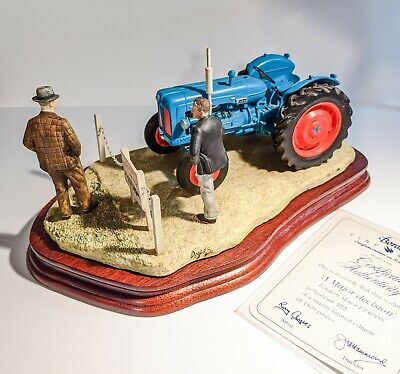 Border Fine Arts -  A Major Decision  Jh92, Fordson Major, Tractor • 370£