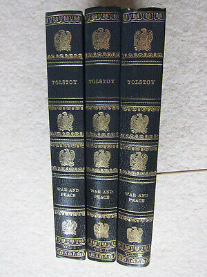 War And Peace By Tolstoy - 3 Volumes (Hardback, Heron Books) • 15£