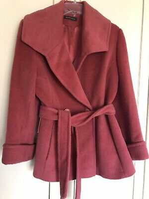 NEW Alex & Co Salmon Pink Wool Coat In Size 10 • 2£