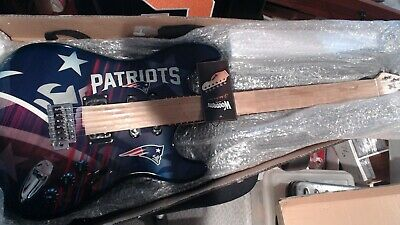 $ CDN764.28 • Buy 250 Of 250 - NEW ENGLAND PATRIOTS  Woodrow NorthEnder Electric Guitar - W/CASE/S