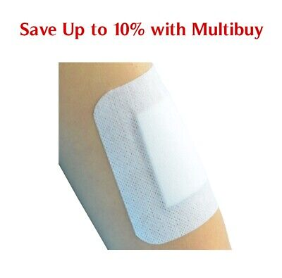 £1.59 • Buy Self-Adhesive First Aid Dressing Cuts Burns Wounds Non-Woven Sterile 13 Sizes