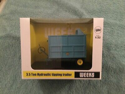 £37.50 • Buy Universal Hobbies Weeks 3.5 Ton Tipping Trailer With Silage Extension Sides