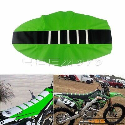 $14.90 • Buy Off Road Ribbed Gripper Soft Seat Cover Rubber For Kawasaki KX 100 KX250 KX125