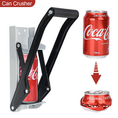 16Oz 500ml Large Beer Tin Can Crusher Wall Mounted Recycling Tool Bottle Opener • 7.29£