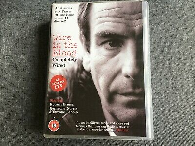 Wire In The Blood Completely Wired Dvd Certificate 18 Approx 33 Hours + Extras • 15£
