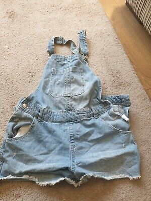 Girls Short Dungarees - Age 12-13 Years • 5£