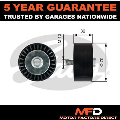 £47.45 • Buy Gates Lower Drive Belt Deflection Guide Pulley 96868478 4802597 96868478 4802597
