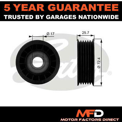 £17.60 • Buy Gates Drive Belt Deflection Guide Pulley 12555424 12580774 8102399300 8971303590