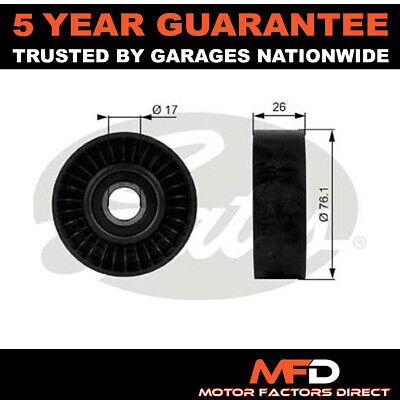 £15.58 • Buy Gates Drive Belt Deflection Guide Pulley 24576073 8245760730 8245760730