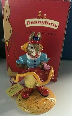 Royal Doulton Bunnykins Figurine  Clarissa The Clown  Db331 With Box • 9.99£