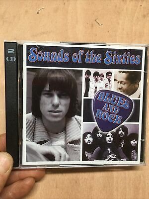 Time Life:Sounds Of The Sixties-Blues And Rock 2xCD Who Procol Harum Troggs 60s • 19.99£