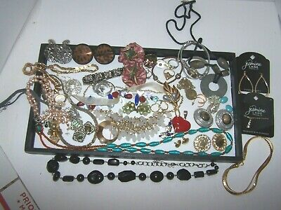 $ CDN12.50 • Buy Vintage To Now Wearable Jewelry Signed Unsigned Lot Estate Wear Resell  Lot # 10